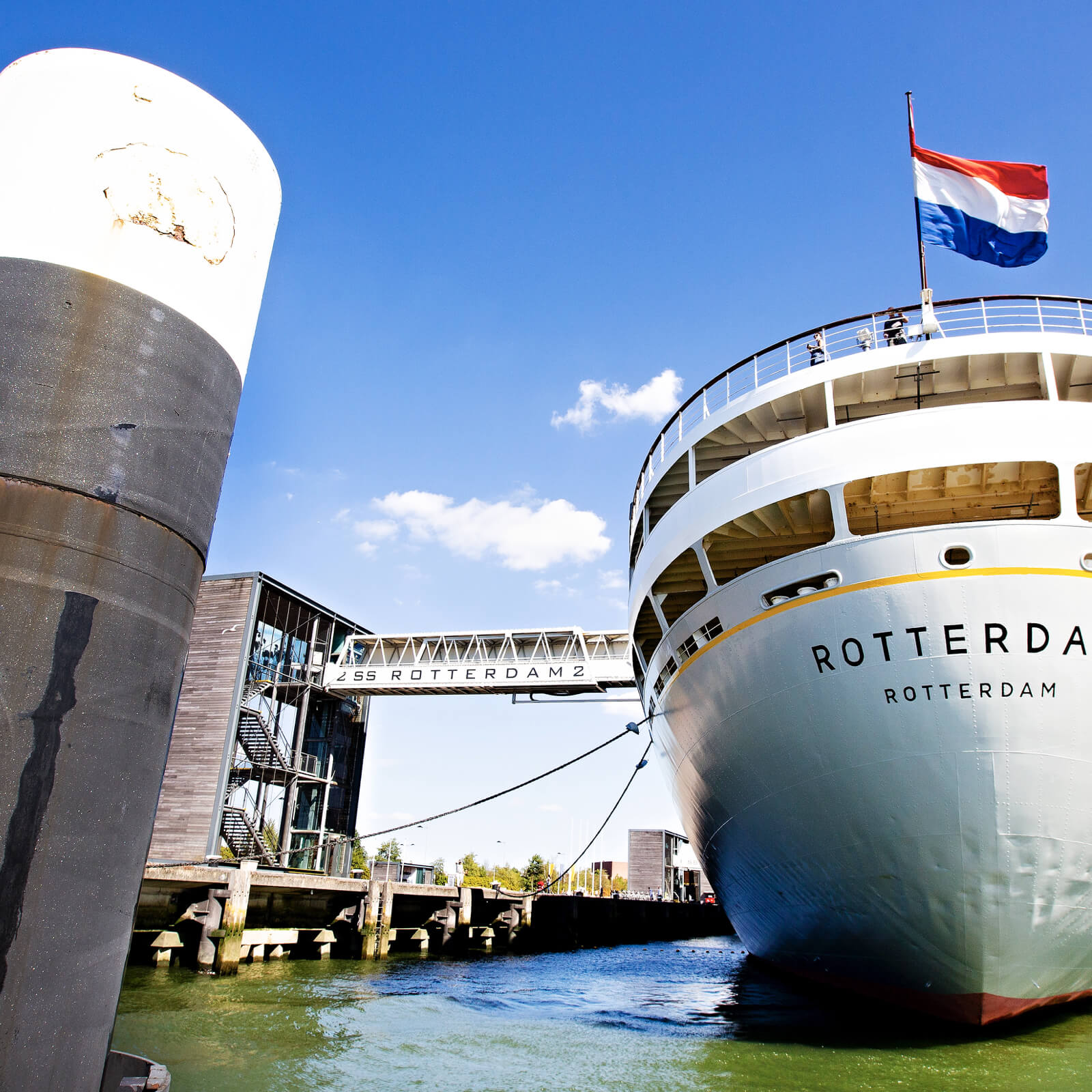 Maintenance of cruise ships can return to Rotterdam
