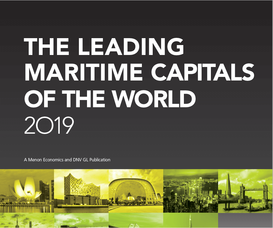 The Leading Maritime Capitals 2019: Rotterdam climbs to #3