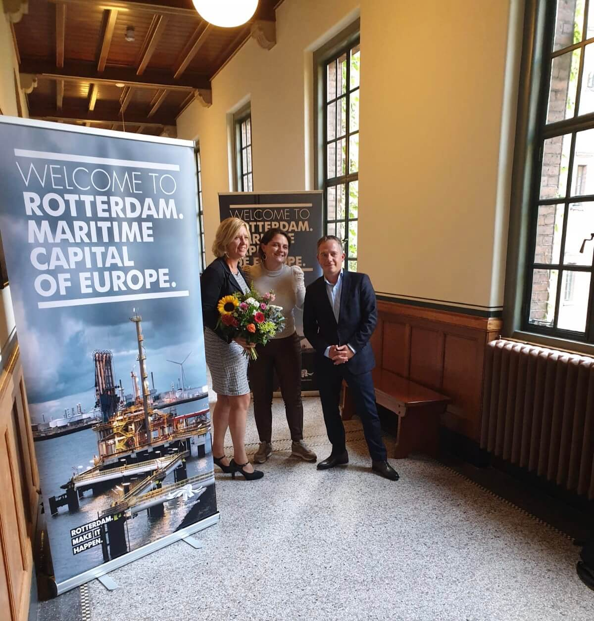 Launch of the Rotterdam Maritime Capital think tank