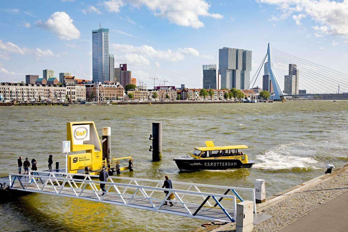 Rapid digital developments water taxis
