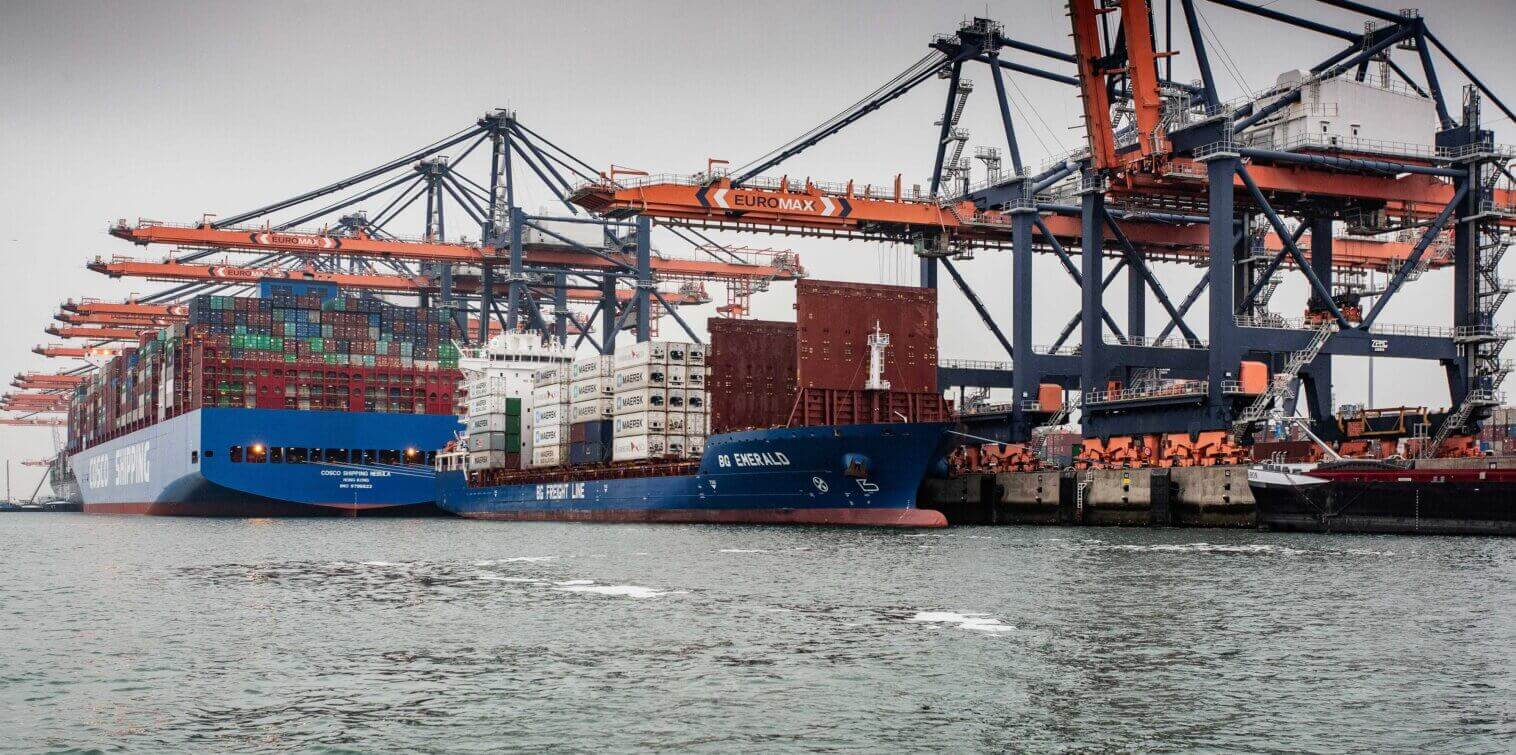 Startup Recovery plan for port of Rotterdam