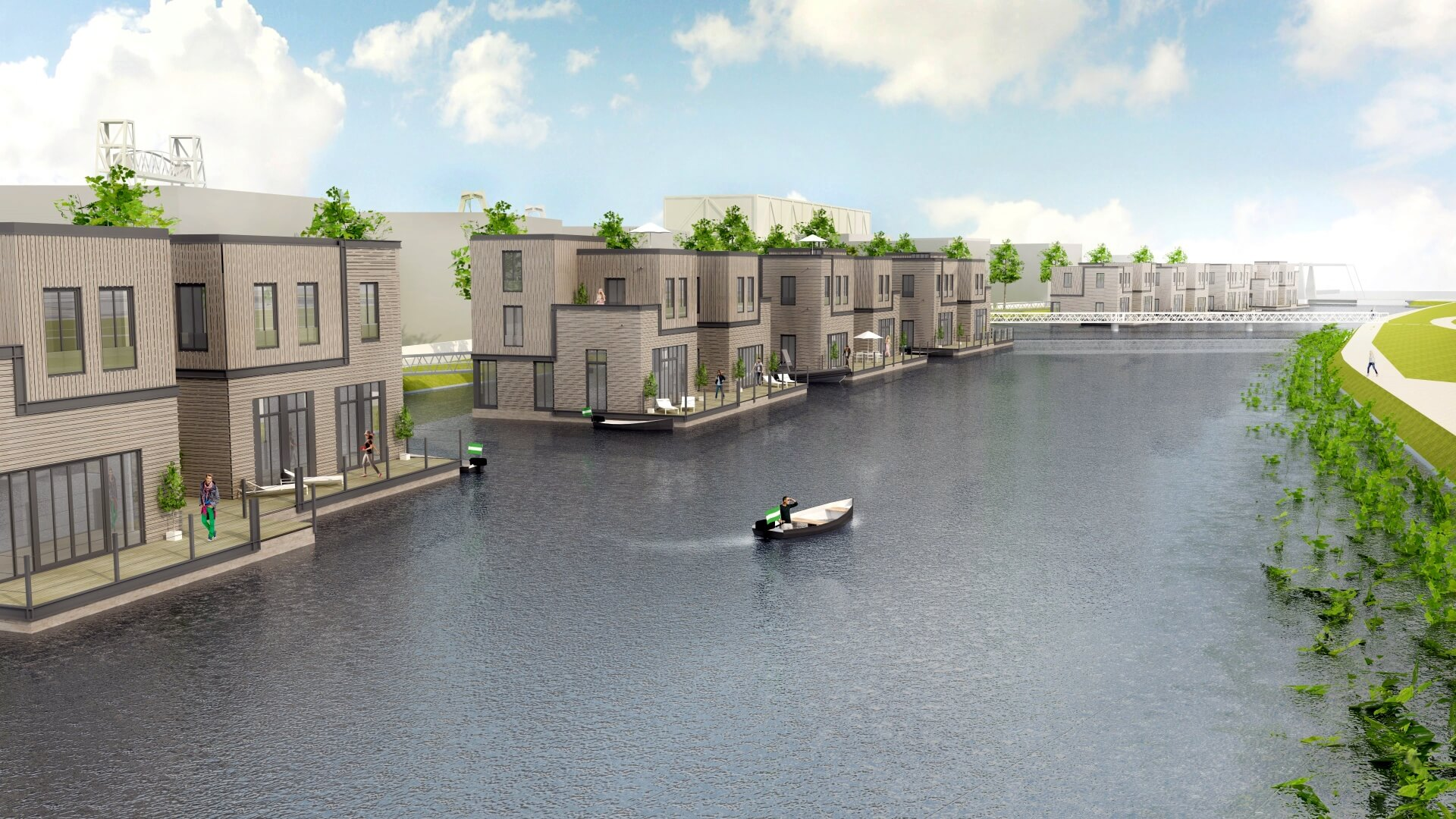 Six more portlofts arrived in Rotterdam's Nassauhaven