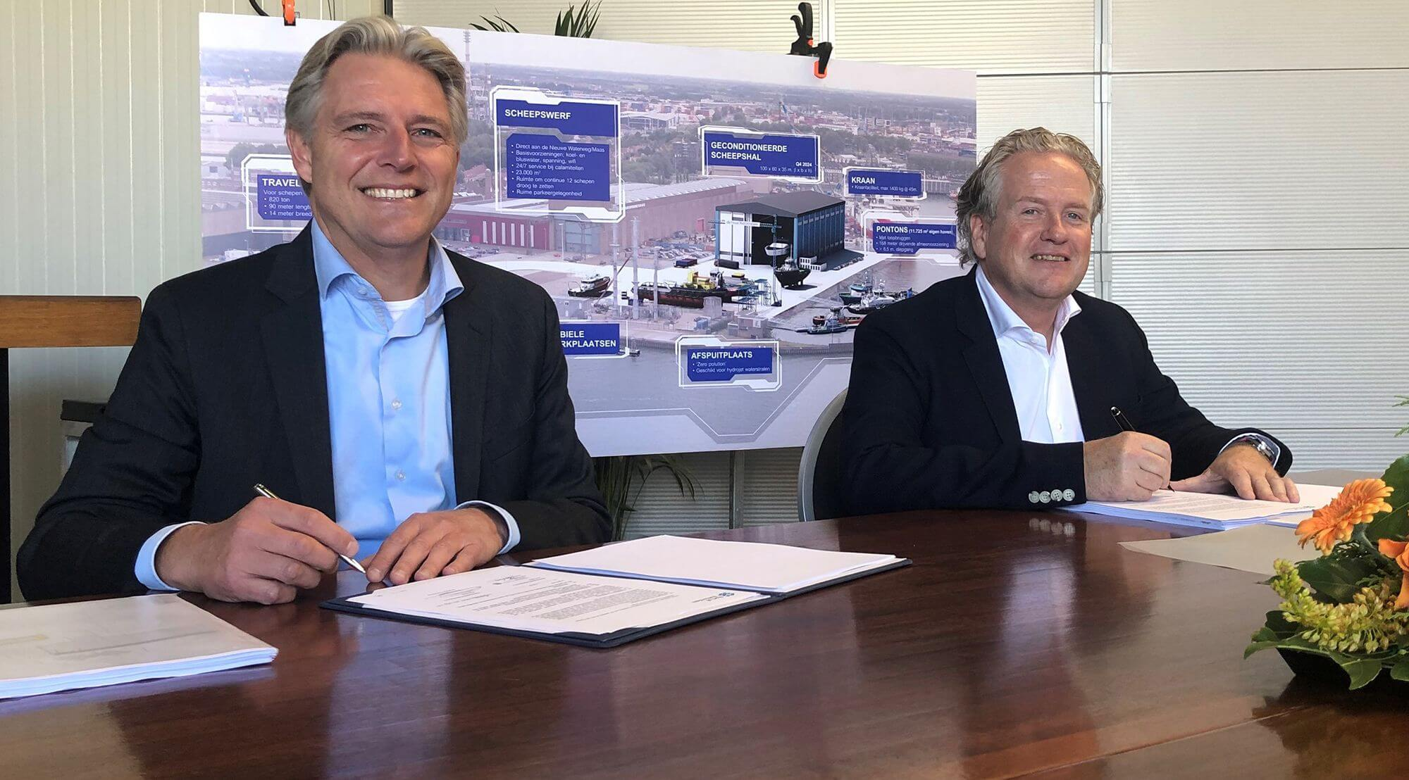 De Haas Rotterdam to expand RDM location with new boat hoist and greater capacity