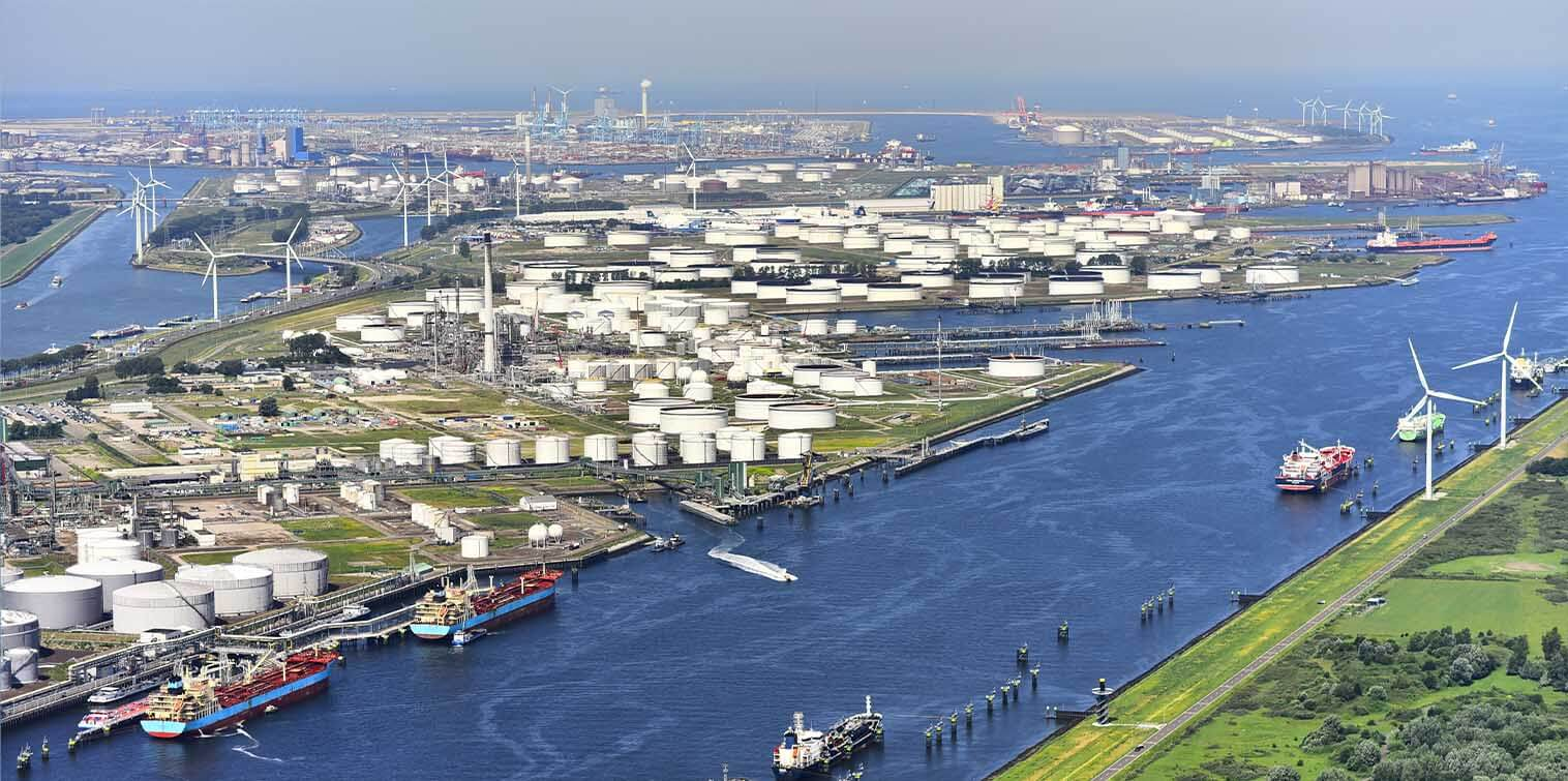 Another step closer to hydrogen backbone in port of Rotterdam