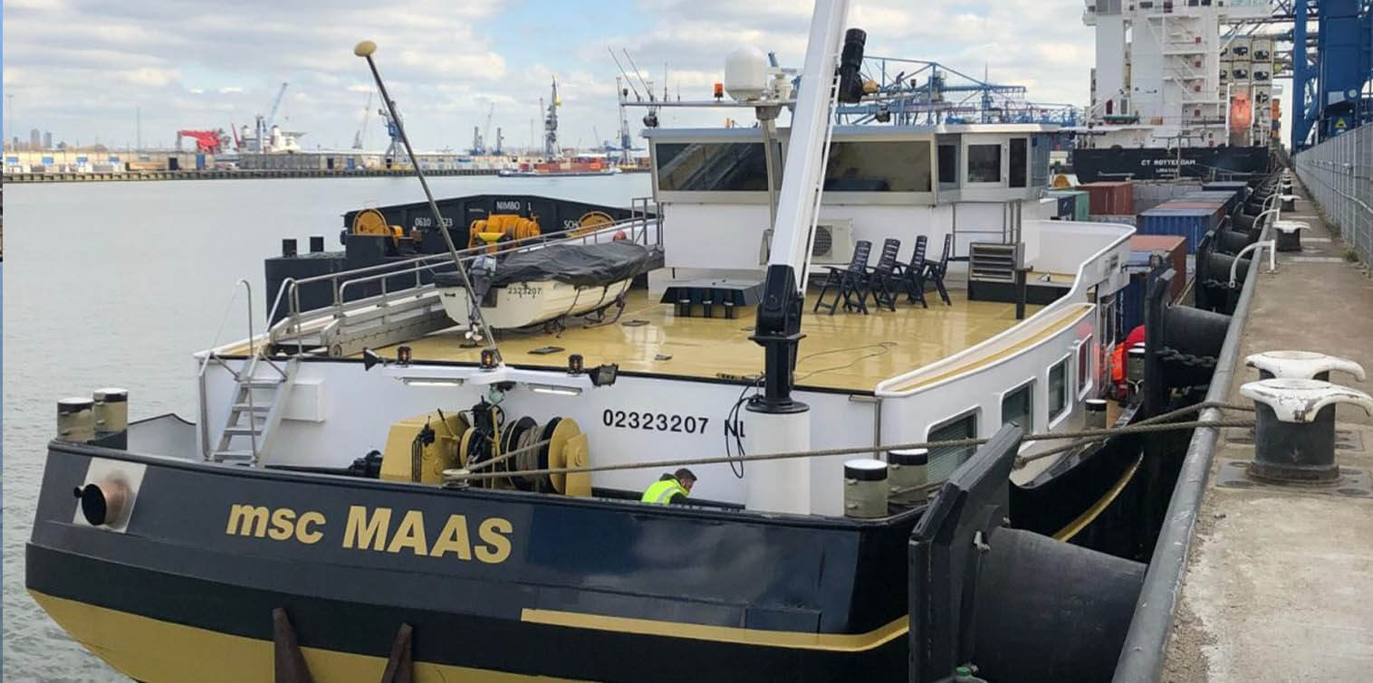 """Holland Shipyards Group will Retrofit Future Proof Shipping's """"Maas"""" to Sail on H2 Power"""