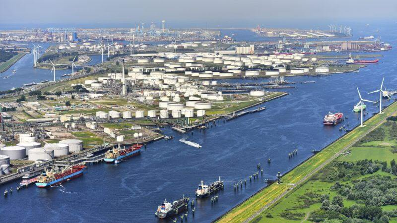 Half of Dutch hydrogen projects are located in Rotterdam