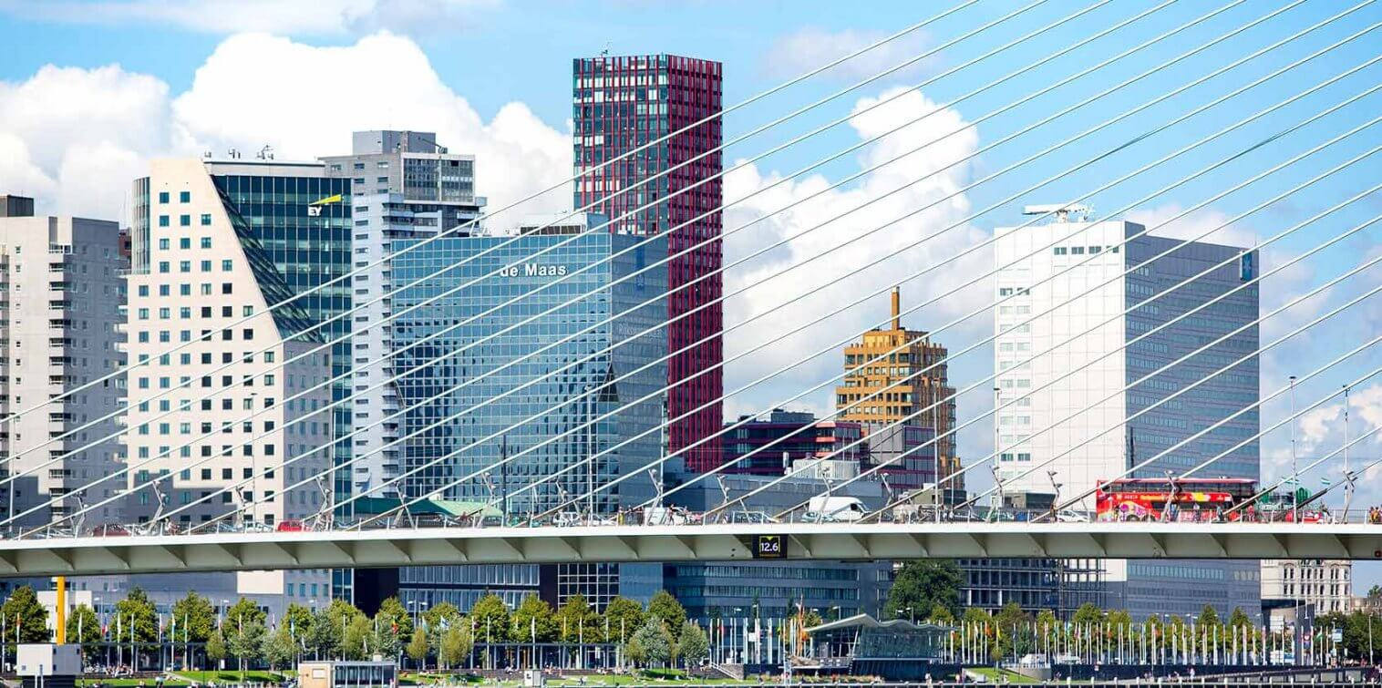 Erasmusbrug - Rotterdam Maritime Capital of Europe