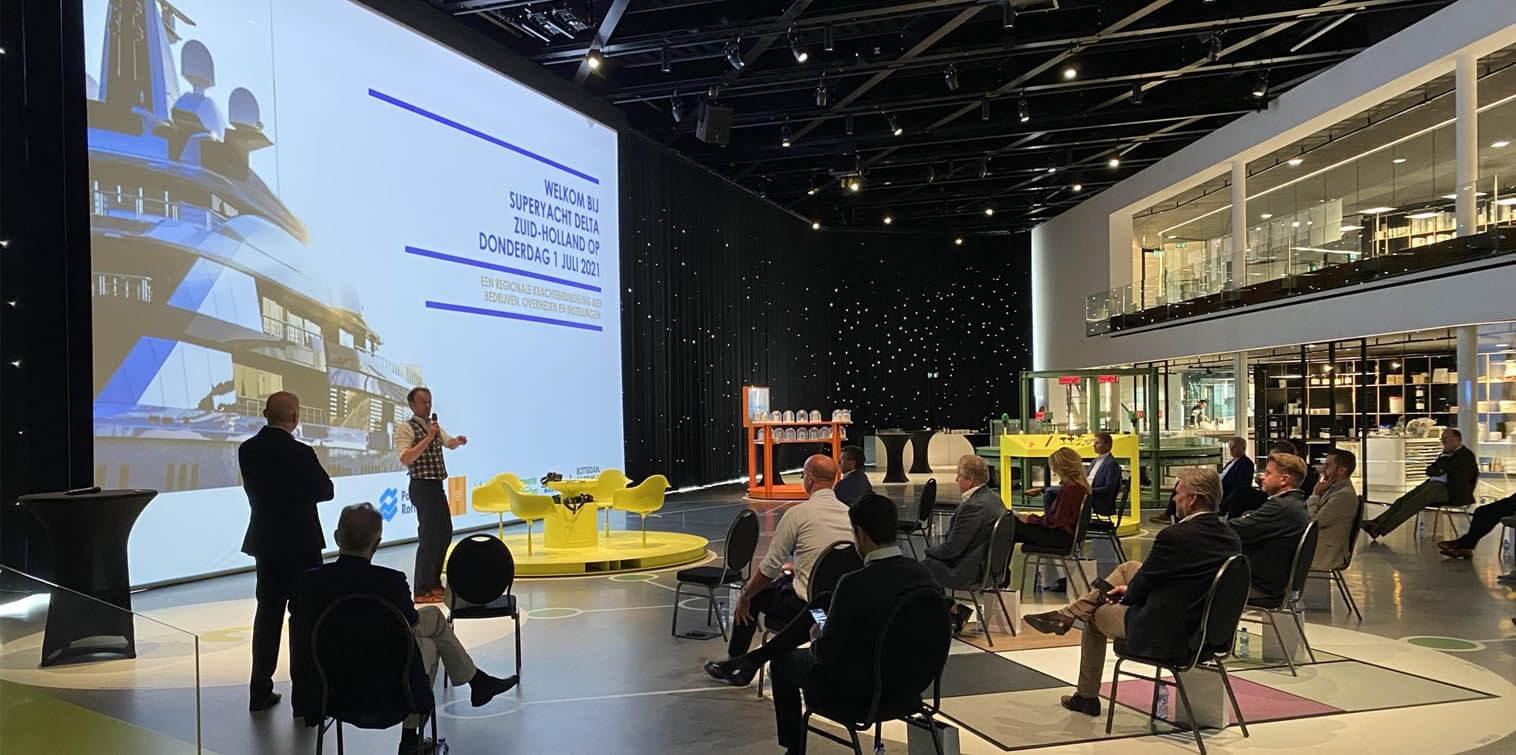 Superjachtsector wil ligplaatsen in Rotterdam