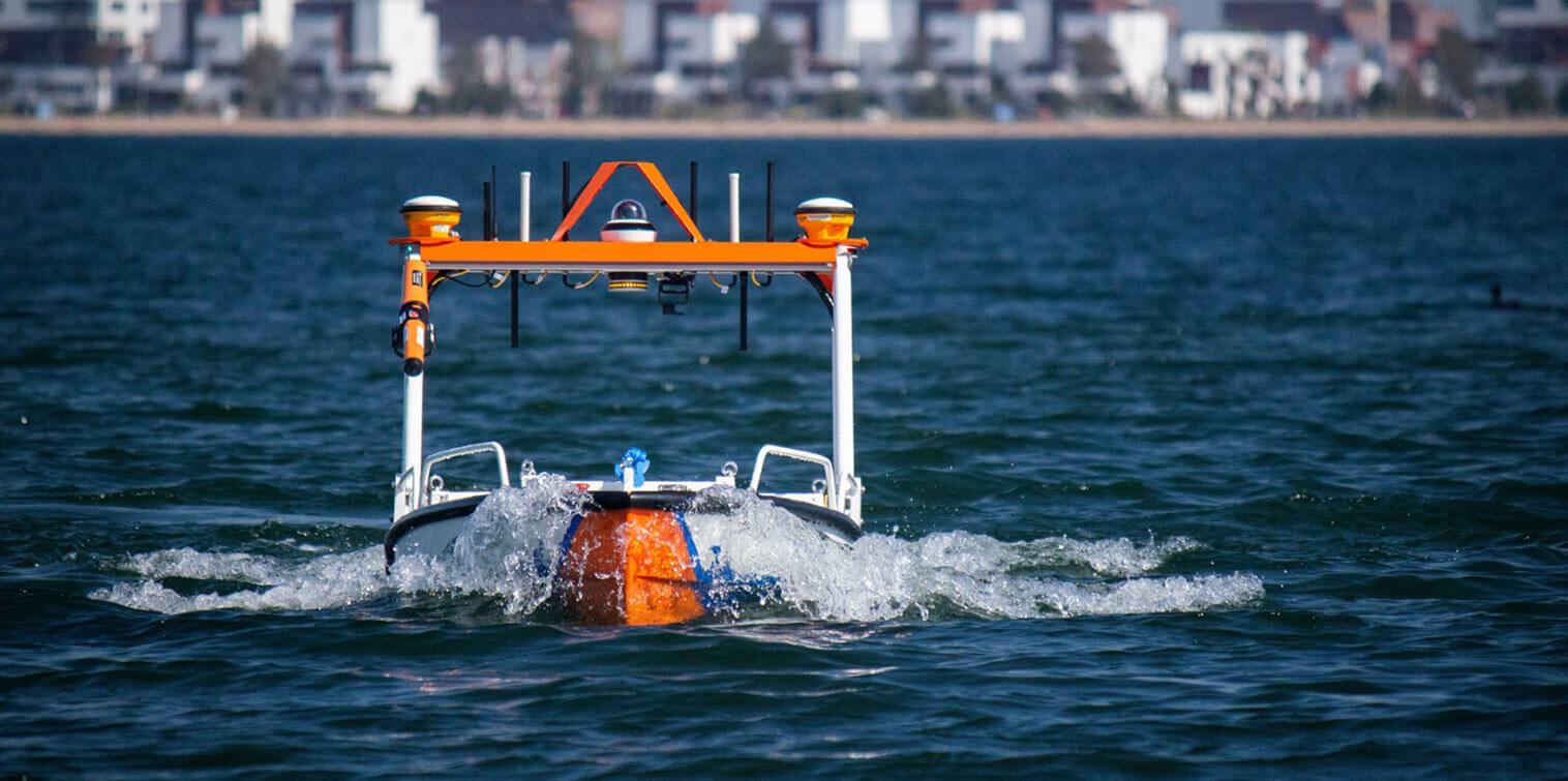 Water trials new autonomous inspection platform Van Oord