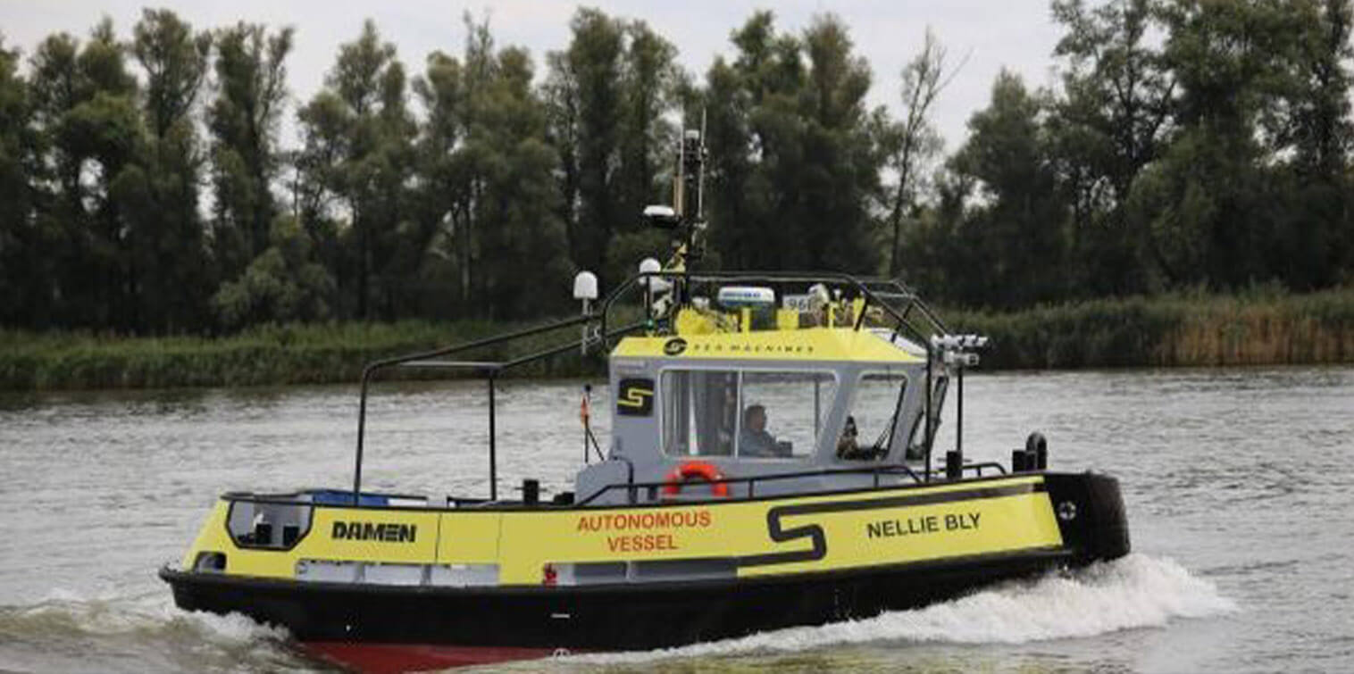 Damen Tug embarks on the world's first 1,000 NM autonomous voyage