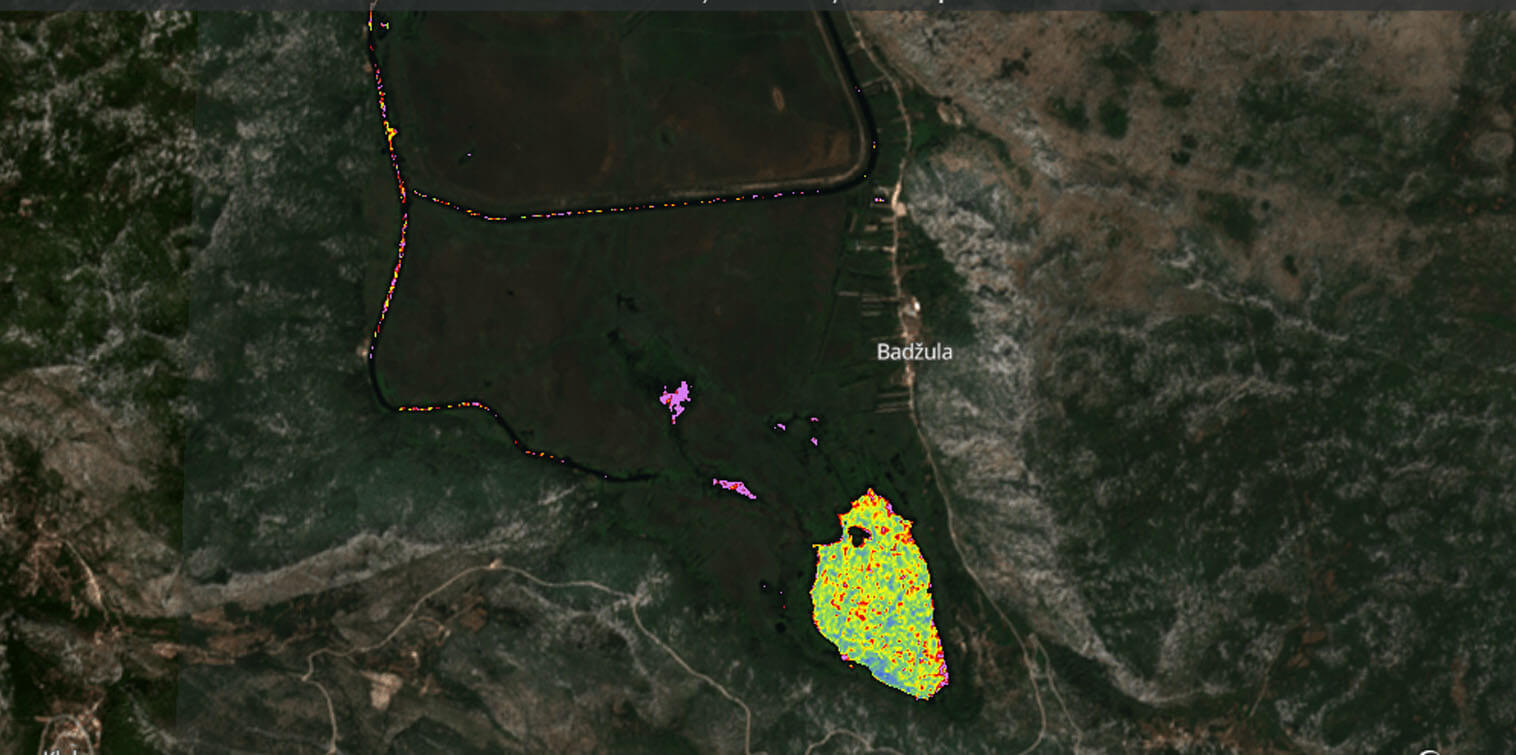 PortXL startups Fregata Space and Clewat team up to carry out monitoring during cleaning of the Kuti lagoon in Croatia
